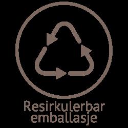 Illustrasjon resirkulerbar emballasje til naturlig og plantebasert såpe