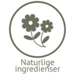 Illustrasjon med naturlige ingredienser i naturlig såpe