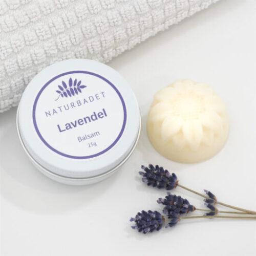 Lavendel balsam i fast form